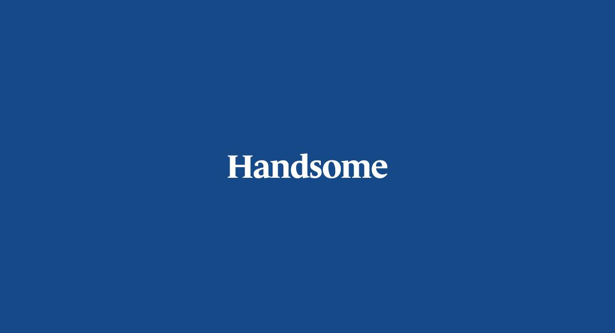 VedrosStudio_Handsome_Wordmark_Blue